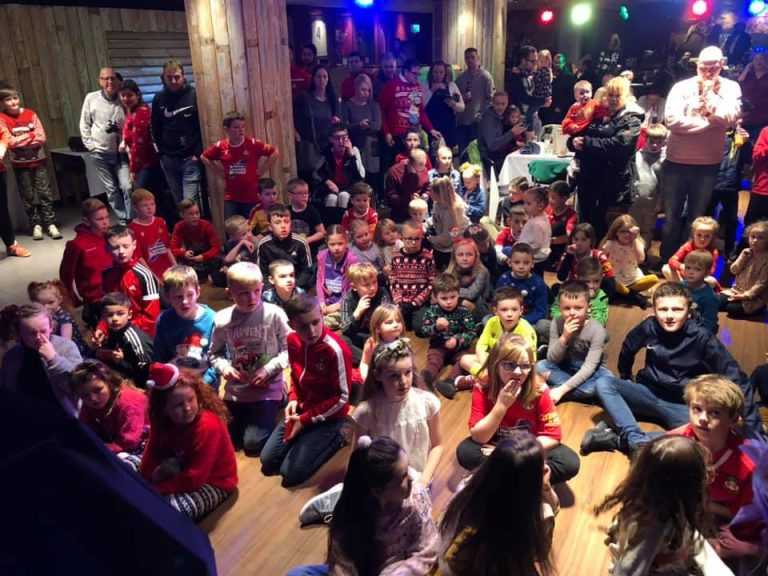 Junior Dragons Enjoy Christmas Party