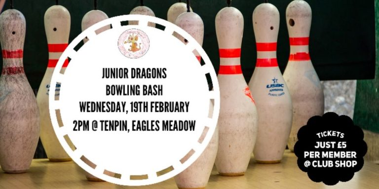 Junior Dragons Bowling Bash