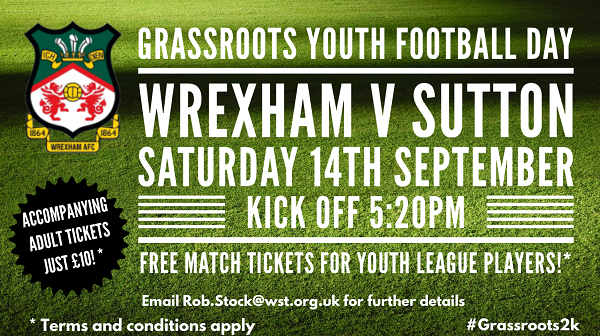 Grassroots Youth Football Day – Update