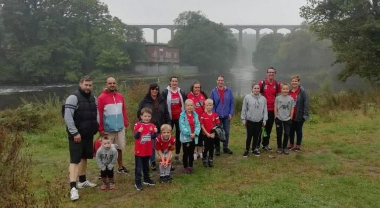 Sponsored Walk Success for JD's and Rubies!