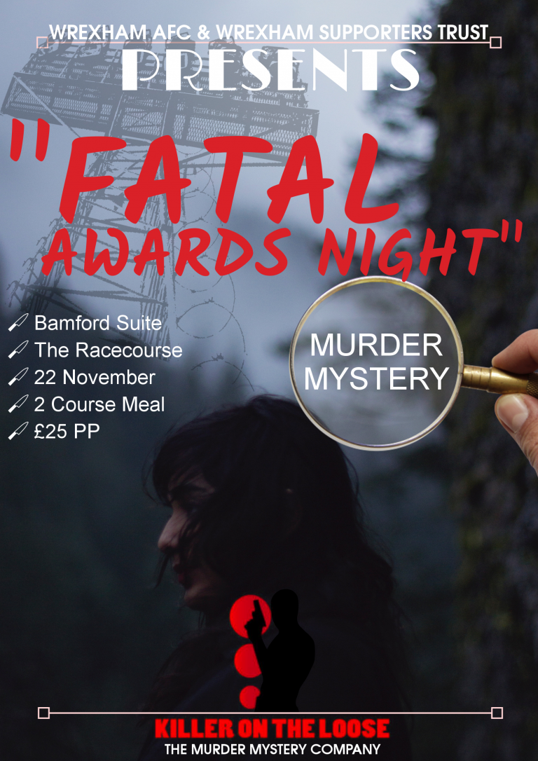 "EVENT | ""Fatal Awards Night"" Murder Mystery At The Racecourse, 22nd November"