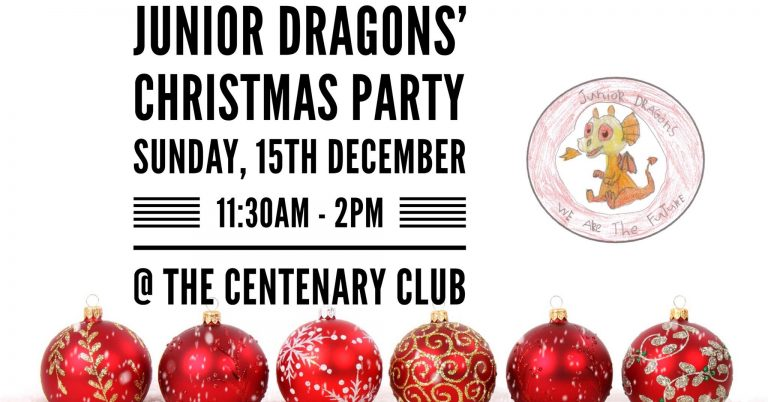 Junior Dragons' Christmas Party