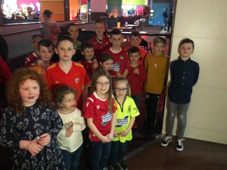 Junior Dragons Enjoy Bowling Bash